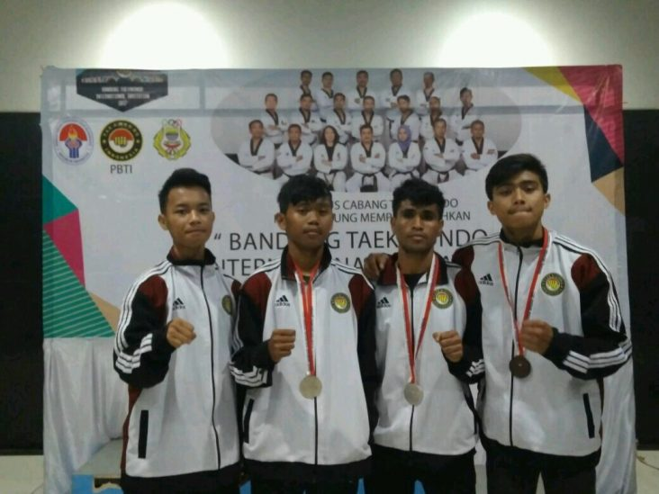 ITN Malang Sabet Tiga Medali dalam Taekwondo International Invitation 2017 1
