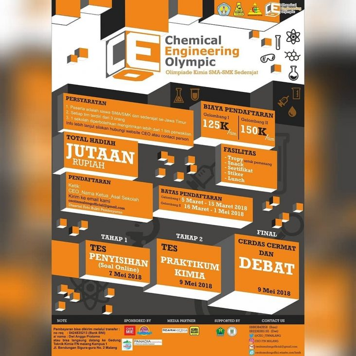 Teknik Kimia Gelar Chemical Engineering Olympic